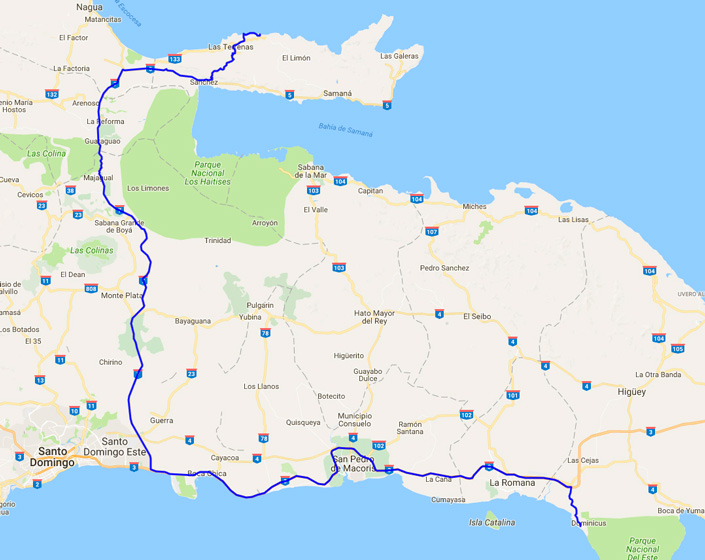 Transport Til Samana Halvoen